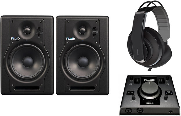 Fluid Audio F5 Complete Studio SET