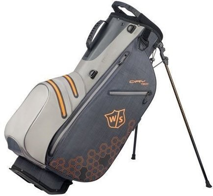 Wilson Staff Dry Tech II Stand Bag Black/Grey