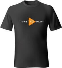 Muziker Tricou Time To Play Black/Orange M