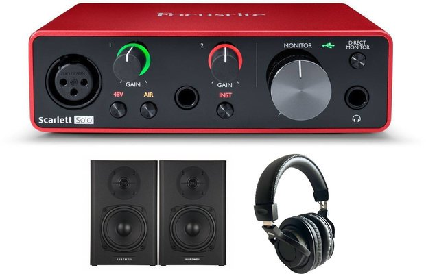 Focusrite Solo 3rd Generation SET