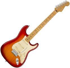 Fender American Ultra Stratocaster MN Plasma Red Burst