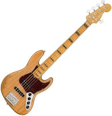 Fender American Ultra Jazz Bass V MN Aged Natural