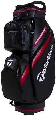 Taylormade Deluxe Black/Red Cart Bag 2019