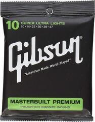 Gibson Masterbuilt Premium Phosphor Bronze 010-047