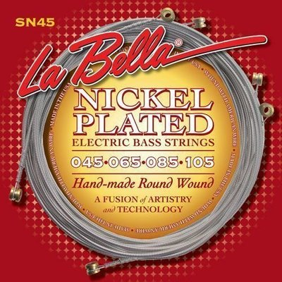 LaBella SN45 Nickel Rounds 45-105 Extra-Long Scale
