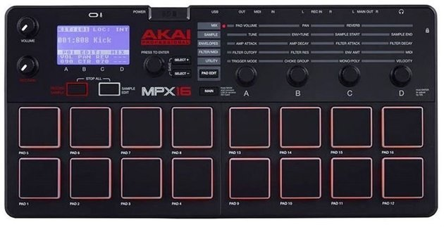 Akai MPX 16 Desktop Sampler