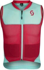 Scott AirFlex Junior Vest Protector Mint Green/Virtual Pink