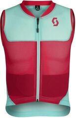 Scott AirFlex Junior Vest Protector Mint Green/Virtual Pink
