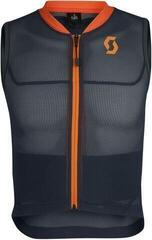 Scott AirFlex Junior Vest Protector Blue Nights/Sweet Orange