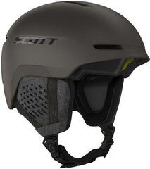 Scott Track Plus Ski Helmet Pebble Brown
