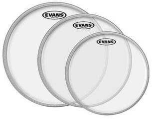 Evans EC2 Clear Tom Pack-Fusion (10'', 12'', 14'')