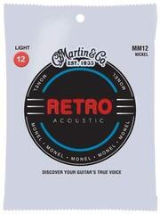 Martin MM12 Retro Acoustic Guitar Strings, Light
