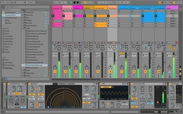 ABLETON Live 10 Suite E-licence - Muziker IT