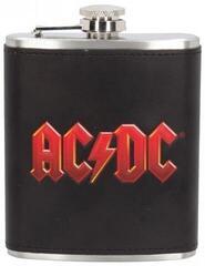 AC/DC Logo Embossed Hip Flask