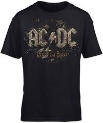 AC/DC Rock Or Bust Kids T-Shirt Black