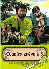 G+W Country zpěvník 3. díl Music Book