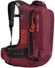Ortovox Free Rider 20 S Avabag Kit Dark Blood