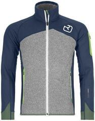 Ortovox Fleece Plus Mens Jacket Night Blue