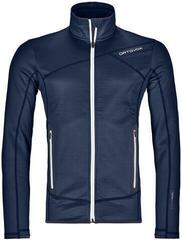 Ortovox Fleece Mens Jacket Dark Navy