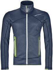 Ortovox Fleece Mens Jacket Night Blue
