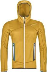 Ortovox Fleece Mens Hoody Yellowstone