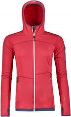 Ortovox Fleece Light Womens Hoody Hot Coral