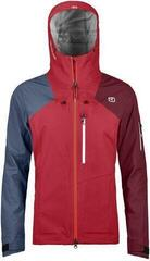 Ortovox 3L Ortler Womens Jacket Hot Coral