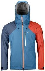 Ortovox 3L Ortler Mens Jacket Blue Sea