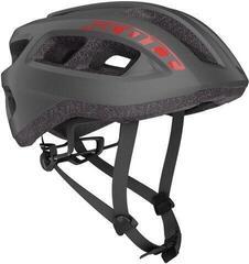 Scott Supra Road (CE) Helmet Dark Grey/Red