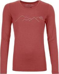Ortovox 185 Merino Mountain Womens Long Sleeve T-Shirt Blush