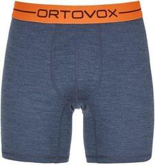 Ortovox 185 Rock 'N' Wool Mens Boxer Night Blue Blend