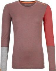 Ortovox 185 Rock 'N' Wool Womens Long Sleeve Shirt Blush Blend