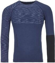 Ortovox 230 Competition Mens Long Sleeve Shirt Night Blue Blend