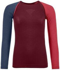 Ortovox 120 Comp Light Womens Long Sleeve Shirt Dark Blood