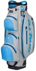 Bennington Dry 14+1 Tour Waterproof Grey/Cobalt Cart Bag
