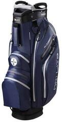 Big max Dri Lite Active Navy/Black/Silver Cart Bag