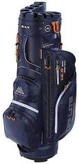 Big Max Dri Lite Silencio Navy/Orange Cart Bag