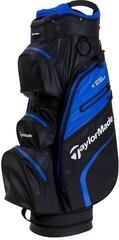 Taylormade Deluxe Waterproof Black/White/Blue Cart Bag 2019