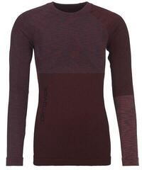 Ortovox 230 Competition Womens Long Sleeve Shirt Dark Wine Blend