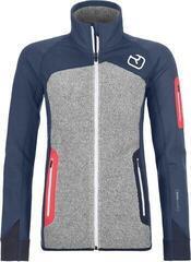 Ortovox Fleece Plus Womens Jacket Night Blue