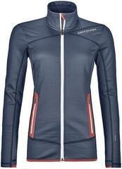 Ortovox Fleece Womens Jacket Night Blue