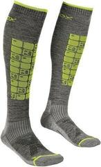 Ortovox Ski Compression Mens Socks Grey Blend