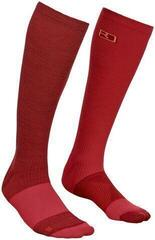 Ortovox Tour Compression Womens Socks Dark Blood