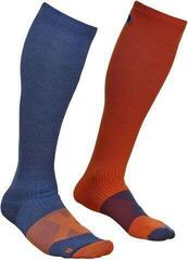 Ortovox Tour Compression Mens Socks Night Blue