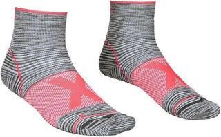 Ortovox Alpinist Quarter Womens Socks Grey Blend
