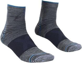 Ortovox Alpinist Quarter Mens Socks Grey Blend