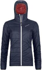 Ortovox Swisswool Piz Bernina Womens Jacket Dark Navy
