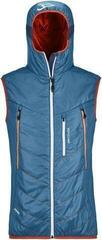Ortovox Piz Boè Mens Vest Blue Sea