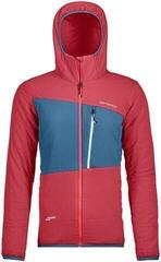 Ortovox Swisswool Zebru Womens Jacket Hot Coral