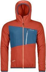 Ortovox Swisswool Zebru Mens Jacket Crazy Orange